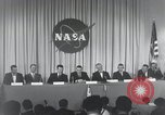 Image of NASA press conference Washington DC USA, 1959, second 57 stock footage video 65675023288
