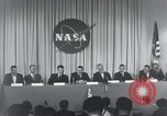 Image of NASA press conference Washington DC USA, 1959, second 58 stock footage video 65675023288