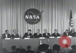 Image of NASA press conference Washington DC USA, 1959, second 61 stock footage video 65675023288