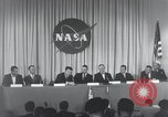 Image of NASA press conference Washington DC USA, 1959, second 62 stock footage video 65675023288