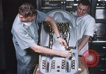 Image of Chimpanzee for spacecraft testing United States USA, 1960, second 4 stock footage video 65675023324