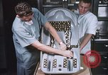 Image of Chimpanzee for spacecraft testing United States USA, 1960, second 7 stock footage video 65675023324