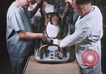 Image of Chimpanzee for spacecraft testing United States USA, 1960, second 15 stock footage video 65675023324
