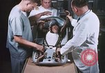 Image of Chimpanzee for spacecraft testing United States USA, 1960, second 17 stock footage video 65675023324
