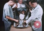 Image of Chimpanzee for spacecraft testing United States USA, 1960, second 18 stock footage video 65675023324