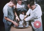 Image of Chimpanzee for spacecraft testing United States USA, 1960, second 19 stock footage video 65675023324