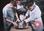 Image of Chimpanzee for spacecraft testing United States USA, 1960, second 20 stock footage video 65675023324
