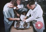 Image of Chimpanzee for spacecraft testing United States USA, 1960, second 21 stock footage video 65675023324