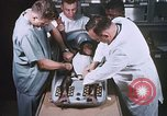 Image of Chimpanzee for spacecraft testing United States USA, 1960, second 24 stock footage video 65675023324