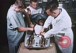 Image of Chimpanzee for spacecraft testing United States USA, 1960, second 25 stock footage video 65675023324