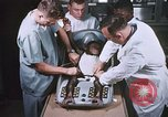 Image of Chimpanzee for spacecraft testing United States USA, 1960, second 26 stock footage video 65675023324