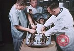 Image of Chimpanzee for spacecraft testing United States USA, 1960, second 28 stock footage video 65675023324