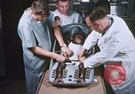 Image of Chimpanzee for spacecraft testing United States USA, 1960, second 29 stock footage video 65675023324
