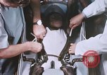 Image of Chimpanzee for spacecraft testing United States USA, 1960, second 41 stock footage video 65675023324