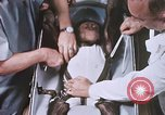 Image of Chimpanzee for spacecraft testing United States USA, 1960, second 43 stock footage video 65675023324