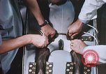 Image of Chimpanzee for spacecraft testing United States USA, 1960, second 51 stock footage video 65675023324