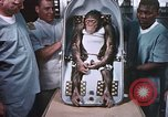 Image of Chimpanzee for spacecraft testing United States USA, 1960, second 58 stock footage video 65675023324
