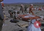 Image of Astronauts survival training Nevada United States USA, 1960, second 24 stock footage video 65675023343