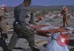 Image of Astronauts survival training Nevada United States USA, 1960, second 26 stock footage video 65675023343