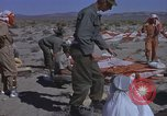 Image of Astronauts survival training Nevada United States USA, 1960, second 27 stock footage video 65675023343