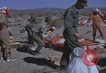 Image of Astronauts survival training Nevada United States USA, 1960, second 28 stock footage video 65675023343