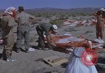 Image of Astronauts survival training Nevada United States USA, 1960, second 33 stock footage video 65675023343