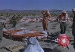 Image of Astronauts survival training Nevada United States USA, 1960, second 49 stock footage video 65675023343