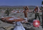 Image of Astronauts survival training Nevada United States USA, 1960, second 50 stock footage video 65675023343