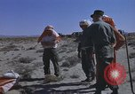 Image of Astronauts survival training Nevada United States USA, 1960, second 51 stock footage video 65675023343