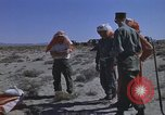Image of Astronauts survival training Nevada United States USA, 1960, second 52 stock footage video 65675023343
