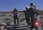 Image of Astronauts survival training Nevada United States USA, 1960, second 53 stock footage video 65675023343