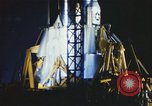 Image of Atlas missile 51D Cape Canaveral Florida USA, 1961, second 1 stock footage video 65675023351