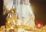 Image of Atlas missile 51D Cape Canaveral Florida USA, 1961, second 40 stock footage video 65675023355