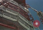 Image of Atlas Missile 3D Cape Canaveral Florida USA, 1959, second 30 stock footage video 65675023371