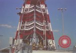 Image of Atlas Missile 3D Cape Canaveral Florida USA, 1959, second 33 stock footage video 65675023371