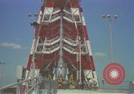 Image of Atlas Missile 3D Cape Canaveral Florida USA, 1959, second 37 stock footage video 65675023371