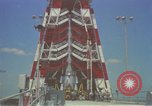 Image of Atlas Missile 3D Cape Canaveral Florida USA, 1959, second 38 stock footage video 65675023371