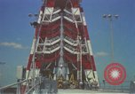 Image of Atlas Missile 3D Cape Canaveral Florida USA, 1959, second 40 stock footage video 65675023371