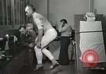Image of NASA testing Hal Crandall for fitness Ohio United States USA, 1959, second 12 stock footage video 65675023415