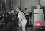 Image of NASA testing Hal Crandall for fitness Ohio United States USA, 1959, second 13 stock footage video 65675023415