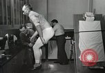 Image of NASA testing Hal Crandall for fitness Ohio United States USA, 1959, second 14 stock footage video 65675023415