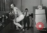 Image of NASA testing Hal Crandall for fitness Ohio United States USA, 1959, second 16 stock footage video 65675023415