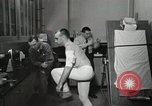 Image of NASA testing Hal Crandall for fitness Ohio United States USA, 1959, second 17 stock footage video 65675023415