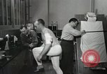 Image of NASA testing Hal Crandall for fitness Ohio United States USA, 1959, second 19 stock footage video 65675023415