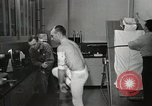 Image of NASA testing Hal Crandall for fitness Ohio United States USA, 1959, second 22 stock footage video 65675023415
