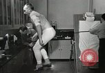Image of NASA testing Hal Crandall for fitness Ohio United States USA, 1959, second 23 stock footage video 65675023415