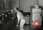 Image of NASA testing Hal Crandall for fitness Ohio United States USA, 1959, second 24 stock footage video 65675023415