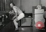 Image of NASA testing Hal Crandall for fitness Ohio United States USA, 1959, second 25 stock footage video 65675023415