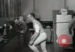 Image of NASA testing Hal Crandall for fitness Ohio United States USA, 1959, second 26 stock footage video 65675023415
