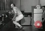 Image of NASA testing Hal Crandall for fitness Ohio United States USA, 1959, second 27 stock footage video 65675023415